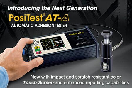 New Adhesion Tester