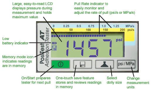 Adhesion Tester Lcd Callout