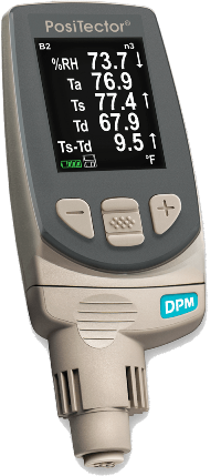 PosiTector DPM Dew Point Meter