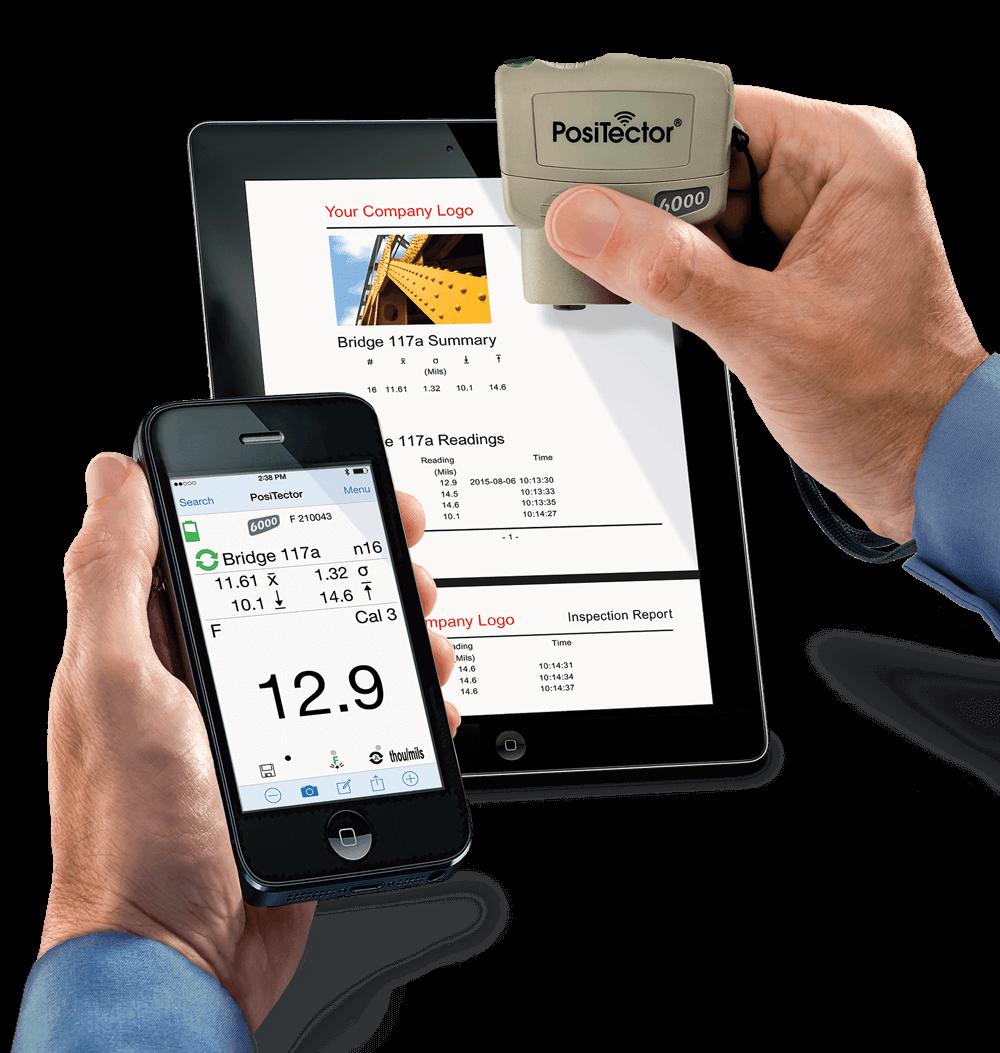 PosiTector SmartLink App