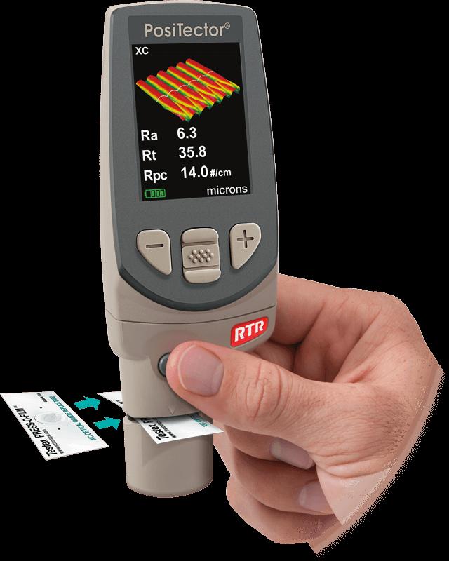 PosiTector RTR 3D Gauge