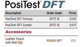 PosiTest DFT Prices