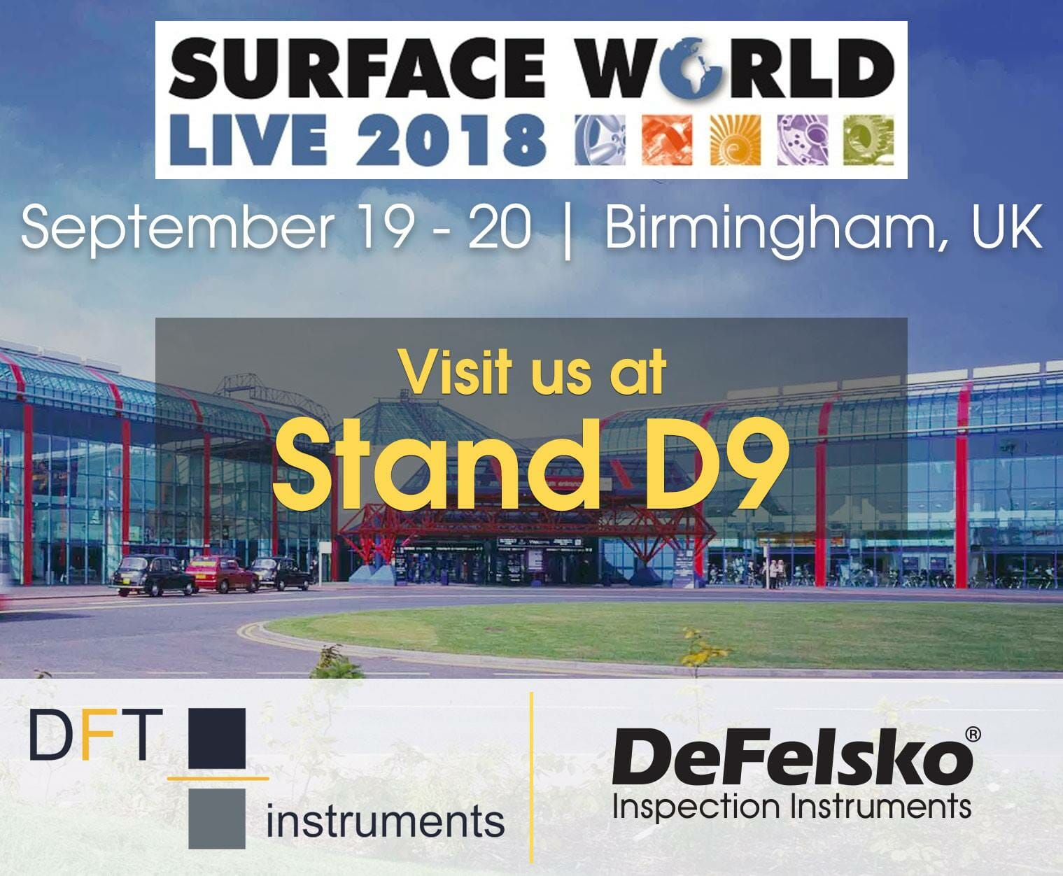 Visit Us At Surface World 2018