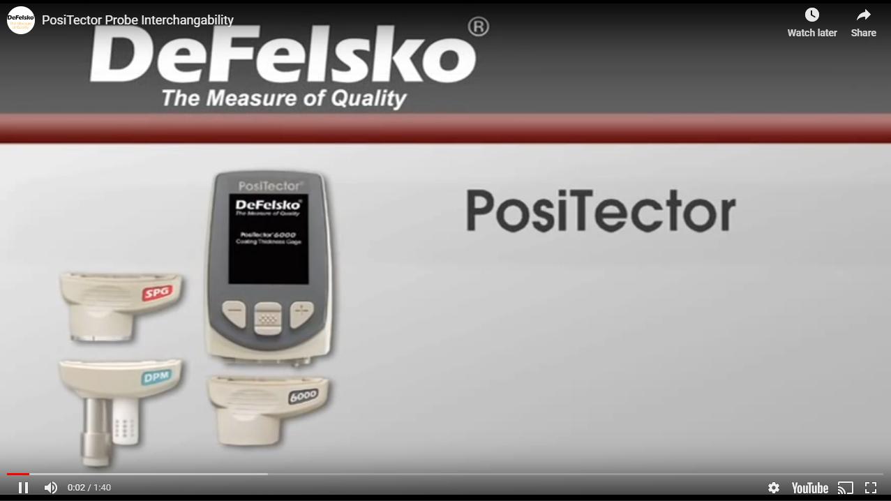 PosiTector Interchangeability