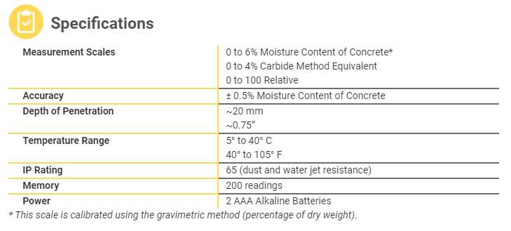 PosiTest CMM Specifications